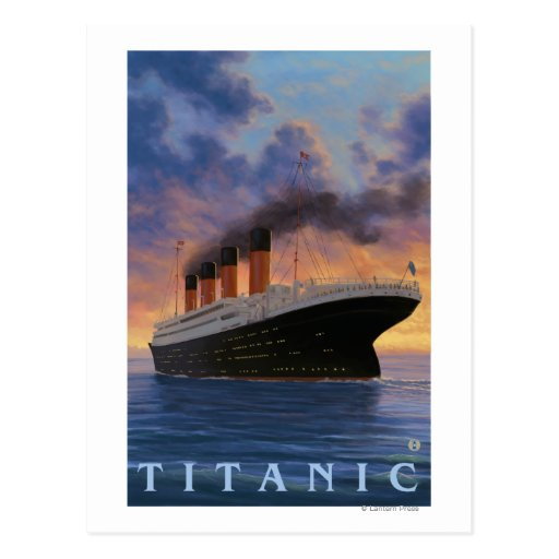 Titanic SceneWhite Star Line Post Cards