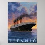 Titanic SceneWhite Star Line Poster