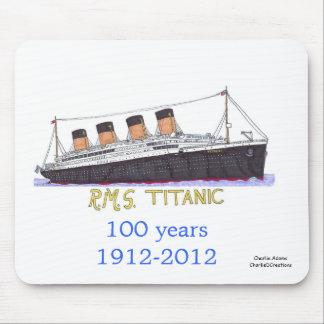Titanic sets sail mouse pad