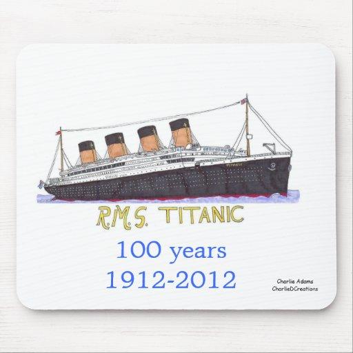 Titanic sets sail mousepad