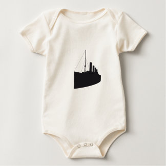 titanic shades baby bodysuit