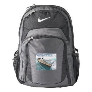 Titanic ship - 3D render Backpack