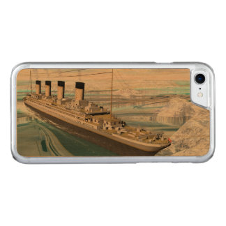 Titanic ship - 3D render Carved iPhone 8/7 Case
