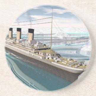 Titanic ship - 3D render Coaster