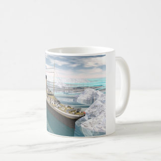 Titanic ship - 3D render Coffee Mug