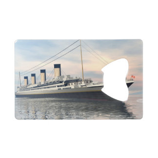 Titanic ship - 3D render Credit Card Bottle Opener