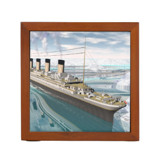 Titanic ship - 3D render Desk Organizer