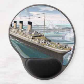 Titanic ship - 3D render Gel Mouse Pad