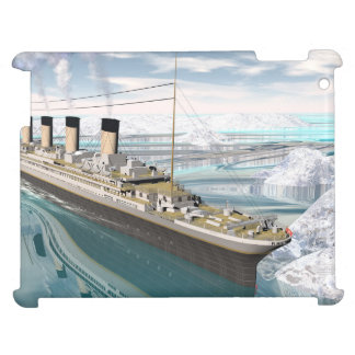 Titanic ship - 3D render iPad Cases