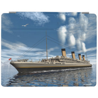 Titanic ship - 3D render iPad Cover