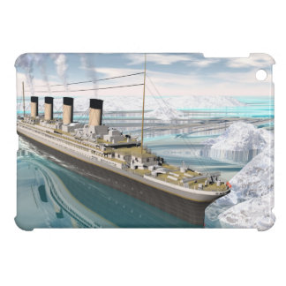 Titanic ship - 3D render iPad Mini Cover