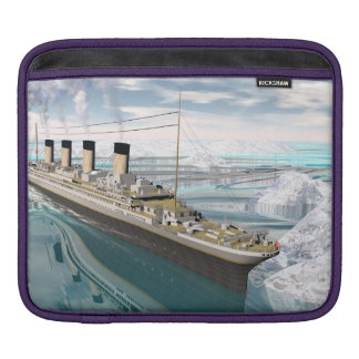Titanic ship - 3D render iPad Sleeve