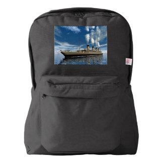 Titanic ship - 3D render.j Backpack