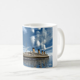 Titanic ship - 3D render.j Coffee Mug