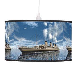 Titanic ship - 3D render.j Pendant Lamp
