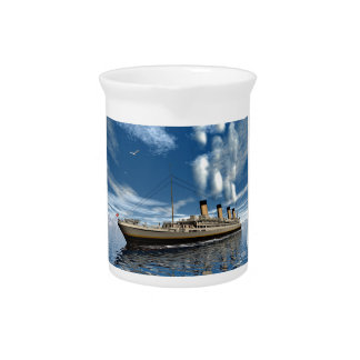 Titanic ship - 3D render.j Pitcher