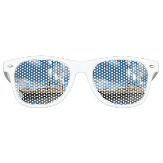 Titanic ship - 3D render.j Retro Sunglasses