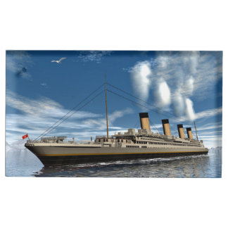 Titanic ship - 3D render.j Table Number Holder