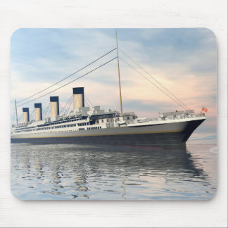Titanic ship - 3D render Mouse Pad