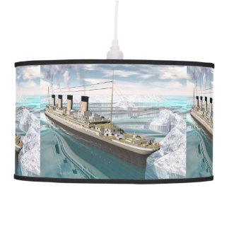 Titanic ship - 3D render Pendant Lamp