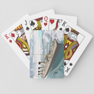 Titanic ship - 3D render Playing Cards