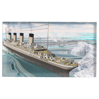 Titanic ship - 3D render Table Number Holder