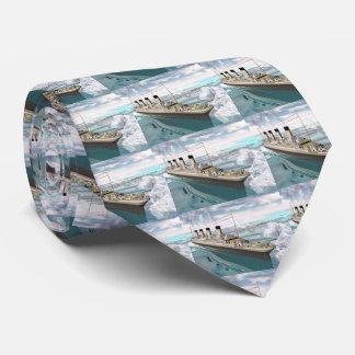 Titanic ship - 3D render Tie