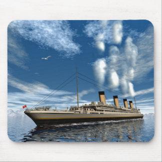 Titanic ship mouse pad