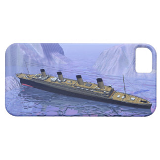 Titanic ship sinking - 3D render Case For The iPhone 5
