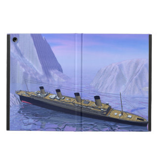 Titanic ship sinking - 3D render iPad Air Case