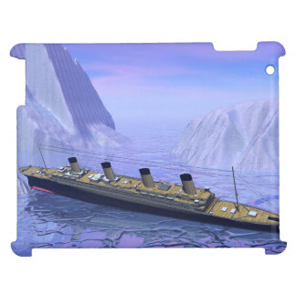 Titanic ship sinking - 3D render iPad Covers