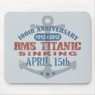 Titanic Sinking 100 Year Anniversary Mouse Pad
