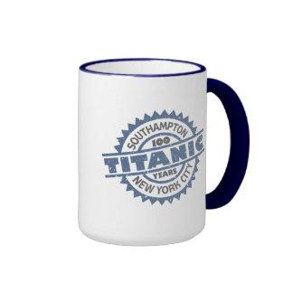 Titanic Sinking 100 Year Anniversary Ringer Coffee Mug