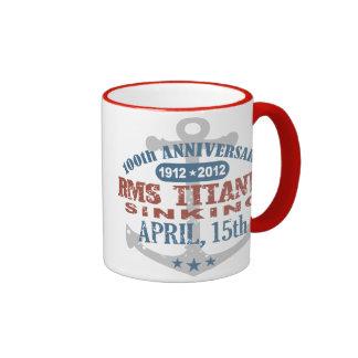 Titanic Sinking 100 Year Anniversary Ringer Mug