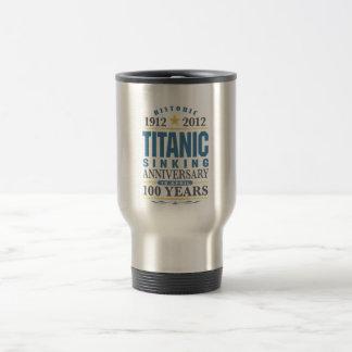 Titanic Sinking 100 Year Anniversary 15 Oz Stainless Steel Travel Mug