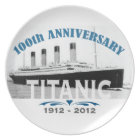 Titanic Sinking 100 Year Anniversary Plate