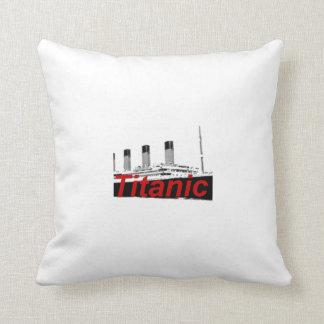 Titanic Throw Pillows