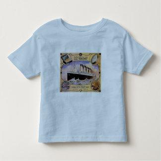 Titanic Vintage Soap Ad Toddler Ringer T Toddler T-shirt