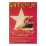 Titanic White Star Line Posters