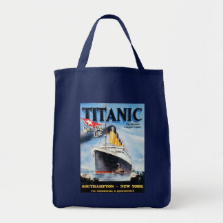 Titanic White Star Line - World's Largest Liner Tote Bag