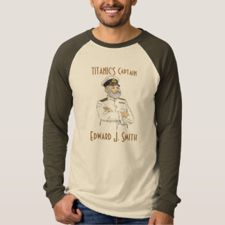 Titanic's Captain Edward J. Smith Tee Shirts