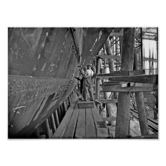 Titanic's Ironworkers Poster