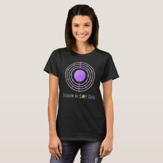 Titanium Atom Science is for Girls T-Shirt