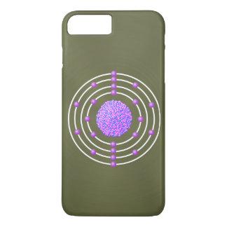 Titanium Atom with Background iPhone 8 Plus/7 Plus Case