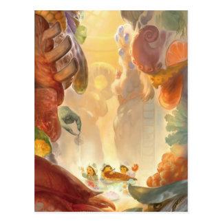 Titans Kitchen Postcard