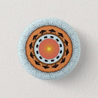 Titans of the savannah 1 inch round button