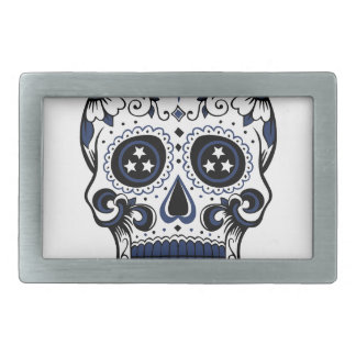Titans Sugar Skull Belt Buckles