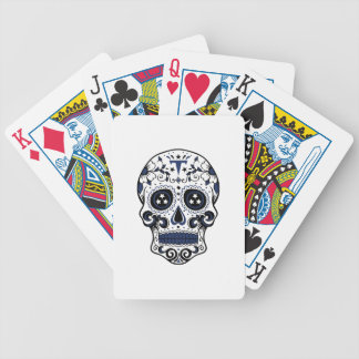 Titans Sugar Skull Bicycle Playing Cards