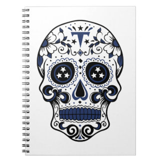 Titans Sugar Skull Spiral Notebook