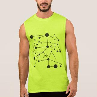 Titik Garis - Men Ultra Cotton Sleeveless Sleeveless Shirt